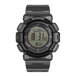 SUNROAD FR821A Outdoor Sports Watch with Compass Stopwatch Pedometer Etc