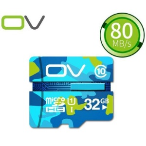 OV Camouflage Edition 32GB Class 10 Micro SD TF Card 80MB/S High Speed