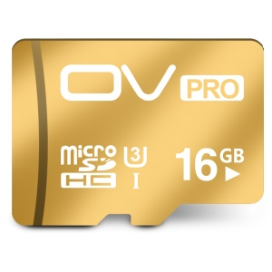 OV Pro Class 10 UHS-I U3 16GB Micro SD Card with 95MB/s Reading 90MB/s Writing Speed
