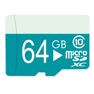 Pastoralism Series 64GB Class 10 Micro SD Memory Card High Capacity with Adapter