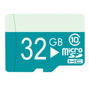 Pastoralism Series 32GB Class 10 Micro SD Flash Memory Card Up to 20MB/s with Adapter