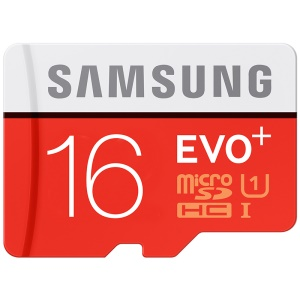 SAMSUNG OEM EVO+ 16GB Class 10 Micro SD TF Memory Card 80Mb/S High Speed