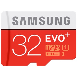 SAMSUNG OEM EVO+ 32GB Class 10 Micro SD TF High Speed Memory Card 80Mb/S Reading