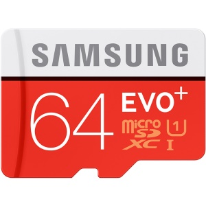 SAMSUNG OEM EVO+ 64GB Micro SD TF Card Class 10 80Mb/S High Speed Memory Card