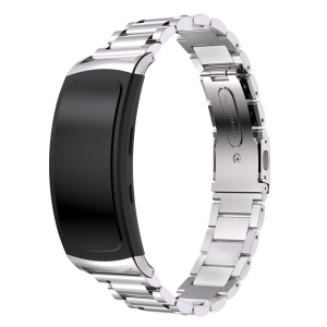 316L Stainless Steel Watchband Strap for Samsung Gear Fit 2 SM-R360 - Silver Color