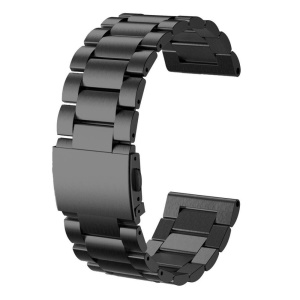 Classic 316L Stainless Steel Watch Band for Garmin Fenix 3 - Black