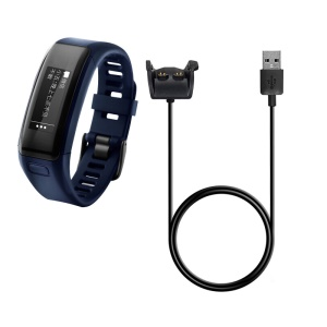 1m Data Sync Charging Cable for Garmin Vivoactive HR Smart Watch - Black