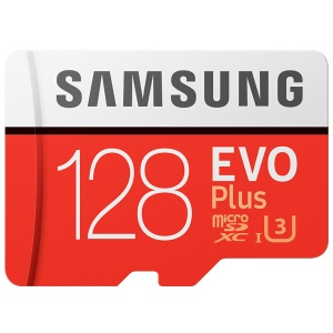 OEM SAMSUNG EVO PLUS 128GB Class 10 Micro SD TF Memory Card 100Mb/S High Speed - Red