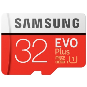 OEM SAMSUNG EVO PLUS 32GB 95MB/s High Speed Memory Card - Red