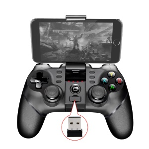 IPEGA PG-9077 Wireless Bluetooth Joystick Game Pad Game Controller for Phone Tablet - Black