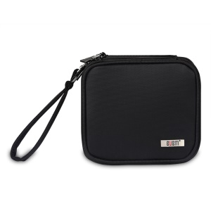 Double Layer Waterproof Protective Carrying Case with Hand Strap for Nintendo 2DS - Black