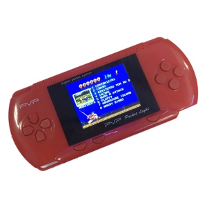 "PVP 2.5"" PVP Game Handheld Console Portable Retro Game Player - Red"