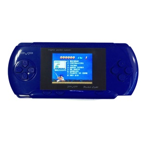 "PVP 2.5"" LCD PVP Game Player Classic Handheld Game Console - Blue"