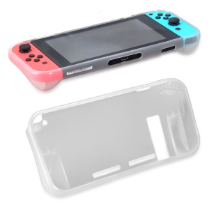 OIVO for Nintendo Switch 2-in-1 TPU Case + Tempered Glass Screen Protector Film Kit - Transparent