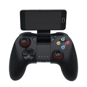 SHINECON B04 Wireless Bluetooth Gamepad Joystick Spiel Griff Für Android Ios (mit Telefonklemme)