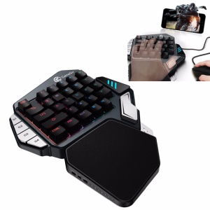 GAMESIR ZI Gaming Keypad One-Handed Switch Keyboard Controller (Blue Switch)