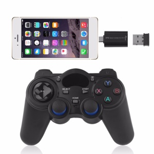 2.4GHz Wireless Gamepad Joystick with OTG Converter for Windows 8/7/XP, Tablet/Phone/TV, Android TV Box