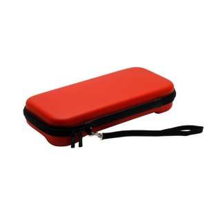 EVA Hard Protective Carrying Travel Cover Storage Bag for Nintendo Switch - Red