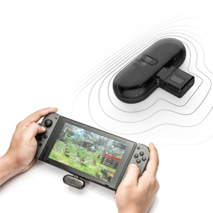 GULIKIT Route+ Wireless Bluetooth Type-C USB Adapter Audio Transmitter for Nintendo Switch Real-time Audio Sync