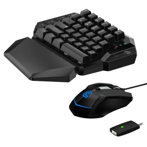 GAMESIR VX AimSwitch Wireless Keyboard Adjustable DPI Mouse Combo for PS4/ PS3/Xbox One/Switch/PC