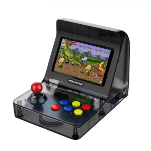 A8 Hand-Held Gaming Handle Game Console Rocker Children Nostalgic Players Video Game Console - All Black
