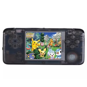 Q9 Video Game Console Retro Game Handheld Games Console Player 3000 Built-in Games 3.0 inch Screen - Black