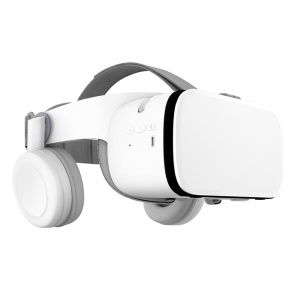 BOBO VR Z6 Bluetooth Wireless Virtual Reality 3D Video Glasses Headset for Mobile Game Audio and Video - White