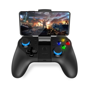 IPEGA PG-9129 Wireless Bluetooth Gamepad for Android/iOS Joystick Console Bluetooth 4.0 Gamepad with Holder