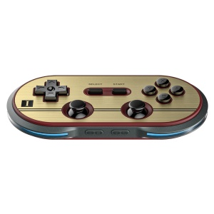 8BITDO FC30 Pro Bluetooth Gamepad Controller with Dual Classic Joysticks for Android iOS Etc.