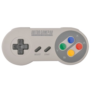 8BITDO SFC30 Wireless Bluetooth Gamepad Game Controller Dual Classic Joystick for IOS / Android