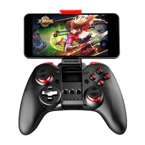 NEWGAME N1 Pro Plus Wireless Bluetooth Gamepad Joystick with Phone Bracket for iOS Android TV Box