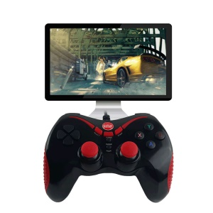 WELCOM 821S USB Wired Gamepad Game Controller for Android/PC/Xbox 360/PS3 - Black