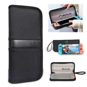 BUBM Portable Hard Carry Case with 14 Game Cartridge / Micro SD Card Holders for Nintendo Switch - Black