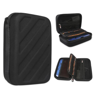 Hard EVA Protective Case for Nintendo 3DS LL/3DS XL Console & Accessories - Black