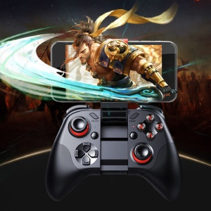 MOCUTE 054 Bluetooth Crystal Button Remote Controller Game Pad for Smartphone for VR TV BOX