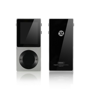 """REMAX RP2 HiFi Bluetooth 4.1 1.8"""" Color Display Lossless Music Player Support LRC Lyrics Display - Silver"""