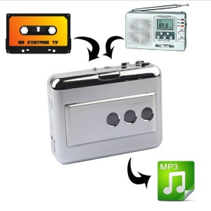 EZCAP 218B USB Cassette Converter Music Player with Audio Output