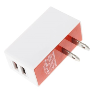 SUGU 2 USB Ports 3.1A US Plug Wall Charger Adapter