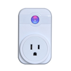WiFi Smart Home Socket Smartphone Remote Control with Timing Function - White / US Plug