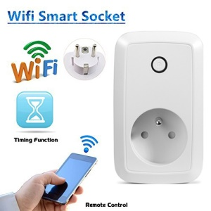 Smart App Control 2.4GHz WiFi Switch Socket EU Plug (Special for France)