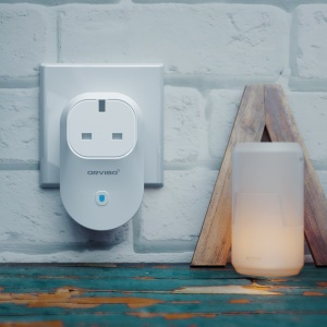 ORVIBO B25UK Smart App-controlled WiFi Socket (CE/RoHS) - White / UK Plug