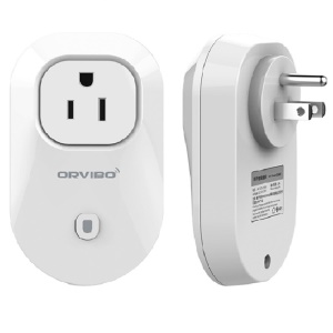 ORVIBO S25US Smart Remote Control WiFi Power Socket (FCC) - White / US Plug
