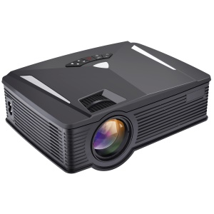 GP17 1080P Mini WiFi LED Projector Supports WiFi Directly Connect with iOS/Android Smartphones - EU Plug