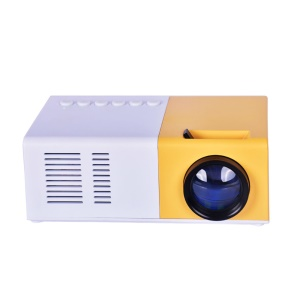 Mini Home Theater Video Projector Support 1080P 1500 Lumens - US Plug