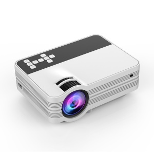 UB-10 Portable Mini Video Projector [Full HD (1080P) / 2000 Lumens] for Movie / Games / Home Theater (without TV Turner) - UK Plug