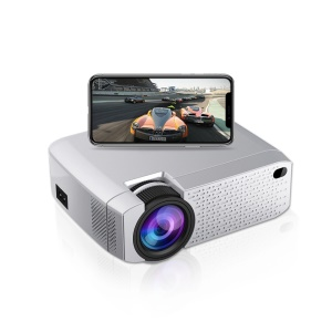 D40W 2200 Lumens Wireless Portable Mini Office Home Theater Projector - EU Plug