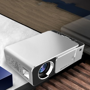 T6 LED Video Projector HD 1280x720P Portable Miracast/Airplay Wired Wireless Screen Display Home Theater Cinema