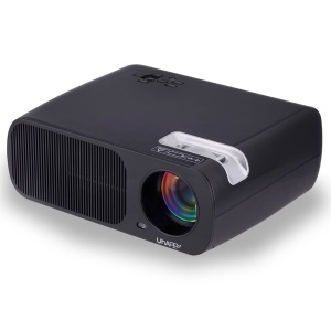 UHAPPY U20 Pro 2600LM 1080P Home Theater 800x480 Mini Projector - Black