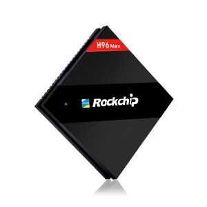 H96 Max Rockchip RK3399 Hexa Core Android 6.0 TV Box Dual Band WiFi Media Player 4+32GB - US Plug