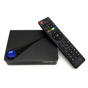 MAGICSEE C300 Pro DVB T2+S2 4K Smart TV Box, Quad-core 2GB+16GB Android 6.0 - EU Plug